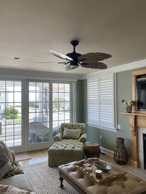 living room remodeled oc beach house