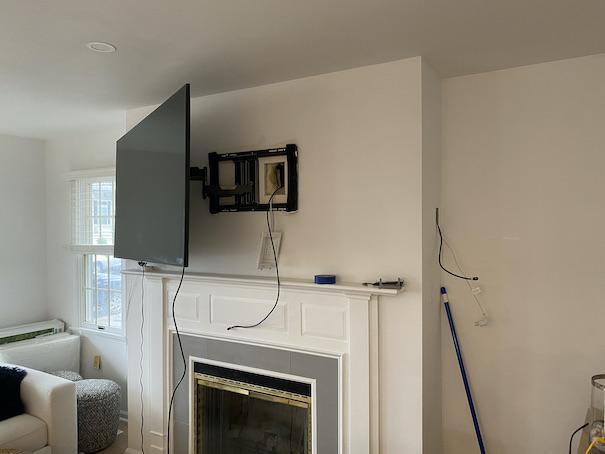 wall mounted tv installation